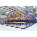 Bases mobiles pour casiers à palettes